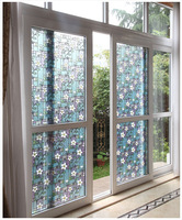 Free Shipping Home Decor Stained Glass Window Film, UV Block Vinyl film , Privacy Decorative Glass Sticker 45*200cm