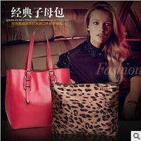 Cowhide genuine leather 2014 bag for woman fashion bag shoulder bags woman's luxury brand handbag