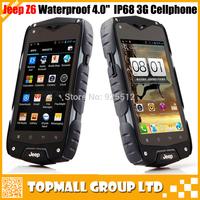 "Original Jeep Z6 IP68 Waterproof rugged 3G tablet Android 4.2 MTK6572W Dual core 4.0"" Screen Dual SIM 3G WIFI GPS 5.0MP Camera"