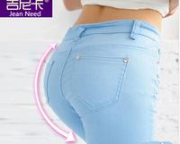 XS-XXXL plus-size 20 Color womens spring-summer denim skinny jeans women overalls elastic pencil pants free Drop shipping