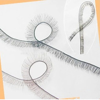 Wholesales 10pcs/lot 8mm width *20cm length eyelashes for 1/3 1/4 BJD doll or reborn doll accessory