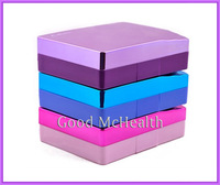 -=< Retail >=- 2014 NEW Design Elegant Noble Specular Contact Lens Case with Soaking Case