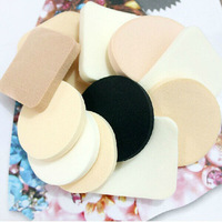 1Bag/12pcs Free Shipping: Foundation Makeup Cosmetic Facial Face Soft Sponge Powder Puff Beauty Tool Beauty Make Up Tool