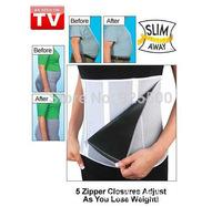 Adjustable slimming belt Slim Belt Slim Away Get The Slim Trim Look As Seen On TV (OPP bag package) Free Shipping 200pcs/lot