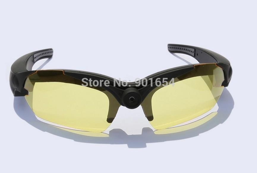 FREE SHIPPING HD 1080P digital mini dvr camera glasses glass sunglass(China (Mainland))