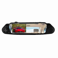Free shipping 5000A Novatek Car Rearview Mirror Camera Recorder DVR 4.3 inch TFT LCD HD 1920x1080p 140 degrees with G-sensor