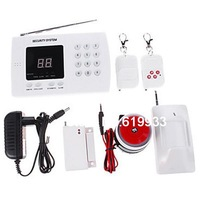 Anti Crack 99 Wireless Defense Zones All In One Autodial Home Security Alarm System With Multi Alarm Modes Selection