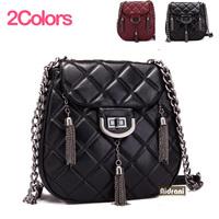 NEW 2014 women's Crossbody Bags sheepskin women handbag genuine leather shoulder bag Europe and America chain messenger bags