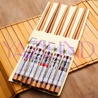 Qiyun Hot Set Of 5 Pairs Beijing Opera Facebook Bamboo Carve Cutlery Chopsticks Pauzinhos Essstabchen Baguettes Palillos