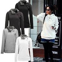 2014 New Arrive Big Size Autumn Hoodies Sweatshirt Women Sport Suit Hoodie Pullover Fleece Winter Warm Sweatershirts Girls S-3XL