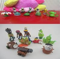20pcs/lot PVZ Plants vs. Zombies 2:Its About Time Mini PVC Action Figure Collection Toys Dolls 8cm