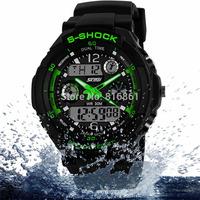 NEW  Waterproof  watches Men S Shock  Multifunction Military Watch G Led Digital Quartz Wristwatch Women silicone Sport watches