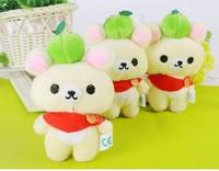 10cm Plush bear pendant,  Cute plush bouquet doll,children gift