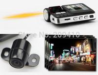 free shipping hot Car dvr F70 with dual lens G-Sensor H.264 Extra AV-in Camera  vehicle video recorder
