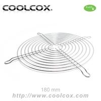CoolCox 180mm fan finger guard CCFG18CM,nichrome material,18cm fan guard,RoHS compliant,5pcs/lot