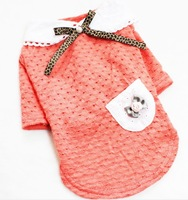 pet dog clothes summer vest teddy/pomeranian/bichon frise summer wear T-shirt puppies puppy clothes