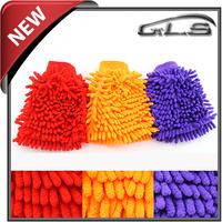 Free Shipping Car House Washing Glove Chenille  Cleaning Glove glass washer glove home cleaning tools glove for wash