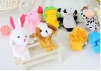 7.5cm Plush pendant,  Cute plush doll,Animal finger stuffed toys