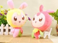 2014 20cm lovely rabbit plush toys  Creative cartoon dolls ,children birthday gift