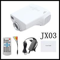 """2pcs Mini LED Video Projector """"jx-03 Hdmi projectors"""" - 320x240, 200:1, VGA and Hdmi Port -green"""