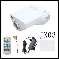 "4pcs Mini LED Video Projector ""jx-03 Hdmi projectors"" - 320x240, 200:1, VGA and Hdmi Port -green.yellow,pink,white"