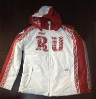 BOSCO SPORT sochi 2014 winter games Olympic uniform for Russia team winter jacket women S hooded fashion jacket free shipping