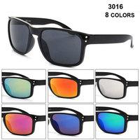 Bright black frame sunglasses  fashion coating gafas de sol women  free shipping  JHM1028