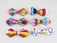 (10 pcs/lot) Baby bowtie/30 kinds of colors are optional/Linen fabric Safety pin desgin/latest child bowknot  free shipping