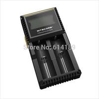 Nitecore Digicharger D2 Charger for IMR/ Li-ion/LifeP04/Ni-MH/Ni-Cd Batteries
