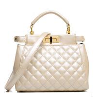 New 2014 female small one shoulder bag fashion women handbag pearl diamond totes hot sale bolsas trendy women messenger bags