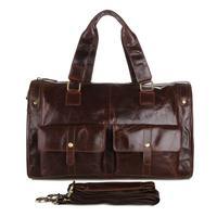 FREE SHIPPING Retro fashion man bag man bag leather bags upscale bag men messenger bags men's travel bags