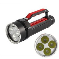100% New Brand 7000 lumen Brightest LED Flashlight Torch light outdoor lighting/Waterproof Flashlights For Diving