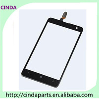 Free shipping Guaranteed 100% touch glass screen digitizer for  Nokia Lumia 625 N625