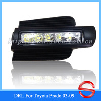 Unimaginable Price For Toyota Land Cruiser Prado FJ120 LC120 2003-2009 LED DRL,Daytime Running Light , Free Shipping!!!