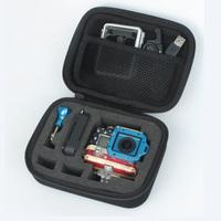 Wholesale Gopro Camera Video Bag Accessories Case EVA Collecting Box for Gopro Hero 3 Hero 3 2 1 Or SJ4000 Freeshipping