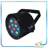 12Pcs/Lot Slim Par Led 6pcs*1W RGB LED Stage Light,DMX Par Cheap Price Led Professional Lighting