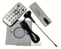 Free Shipping Digital Satellite DVB t2 USB TV Stick Tuner with antenna Remote HD TV Receiver for DVB-T2/DVB-C/FM/DAB Drop Ship