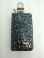 811938 Good leather key bag for car universal type popular model key bag leather  TOP quality cowhide free shipping