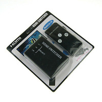 3 Port Mini 1080p HDMI Switch Switcher HDMI Splitter Box for PS3 HDTV DVD