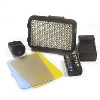 KO SHOOT XT-160II LED Video Lamp Light with Battery for Canon Panasonic Camera DV Camcorder
