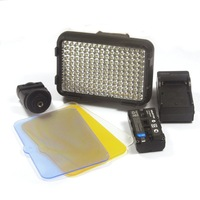 KO SHOOT XT-160II LED Video Lamp Light with Battery for Canon Panasonic Camera DV Camcorder