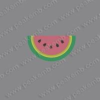Free Shipping 50Pcs/Lot Watermelon Rhinestone Iron On Transfer Dmc Flatback Rhinestone Wholesale Strass Motif