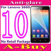 Matte Anti-Glare Anti Glare Screen Protector Protection Guard Film For Lenovo S660,No Retail Package+10pcs