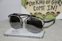 cat eye sunglasses women female frame glasses vintage metal fashion sunwear gafas OCULOS de sol new sunglasses 2014 S0386