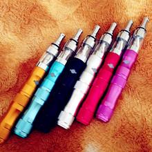 Electronic cigarette x6 starter kit with iclear 30 clearomizer e cig x6 E-cigarette zipper kit