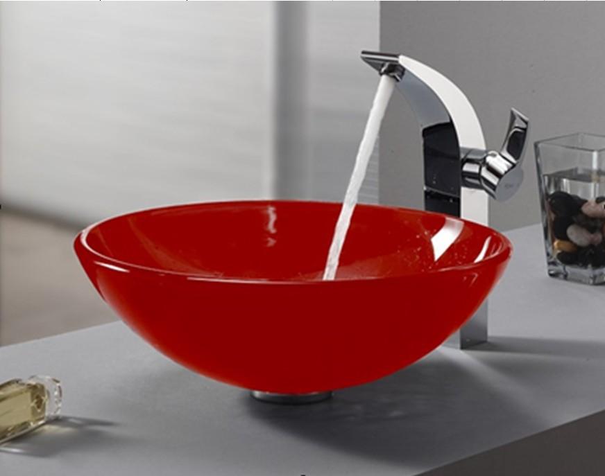 lavabo salle de bain en verre - Lavabo Salle De Bain En Verre