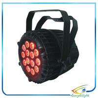 CE&RoHS 18X10W LED Par Light 180W RGBW 4IN1 waterproof ip65 outdoor PAR64 DMX PAR Stage Lighting