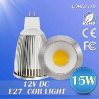 100PCS Hot Sale 7W/10W/15W LED Lamps 12V  mr16  LED Bulb 120 degree Cold white/warm white/natural white  led spotlight