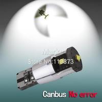 2pcs 15W Cree LED NEW Canbus cree led,194/501 W5W led high power,168 canbus car light,cree led t10 canbus car light source