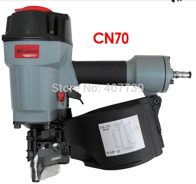 pneumatic staple gun air nailer CN70 industrial coil nail machine(China (Mainland))